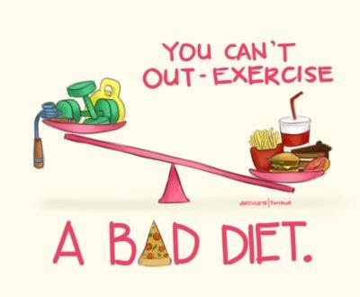 you-cant-out-exercise-a-bad-diet